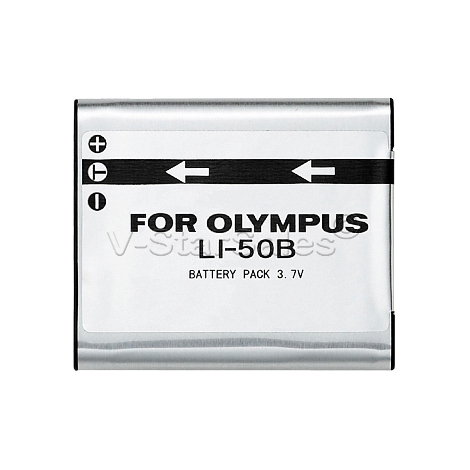 Li 50b Battery Charger Bonus For Olympus Stylus Mju S