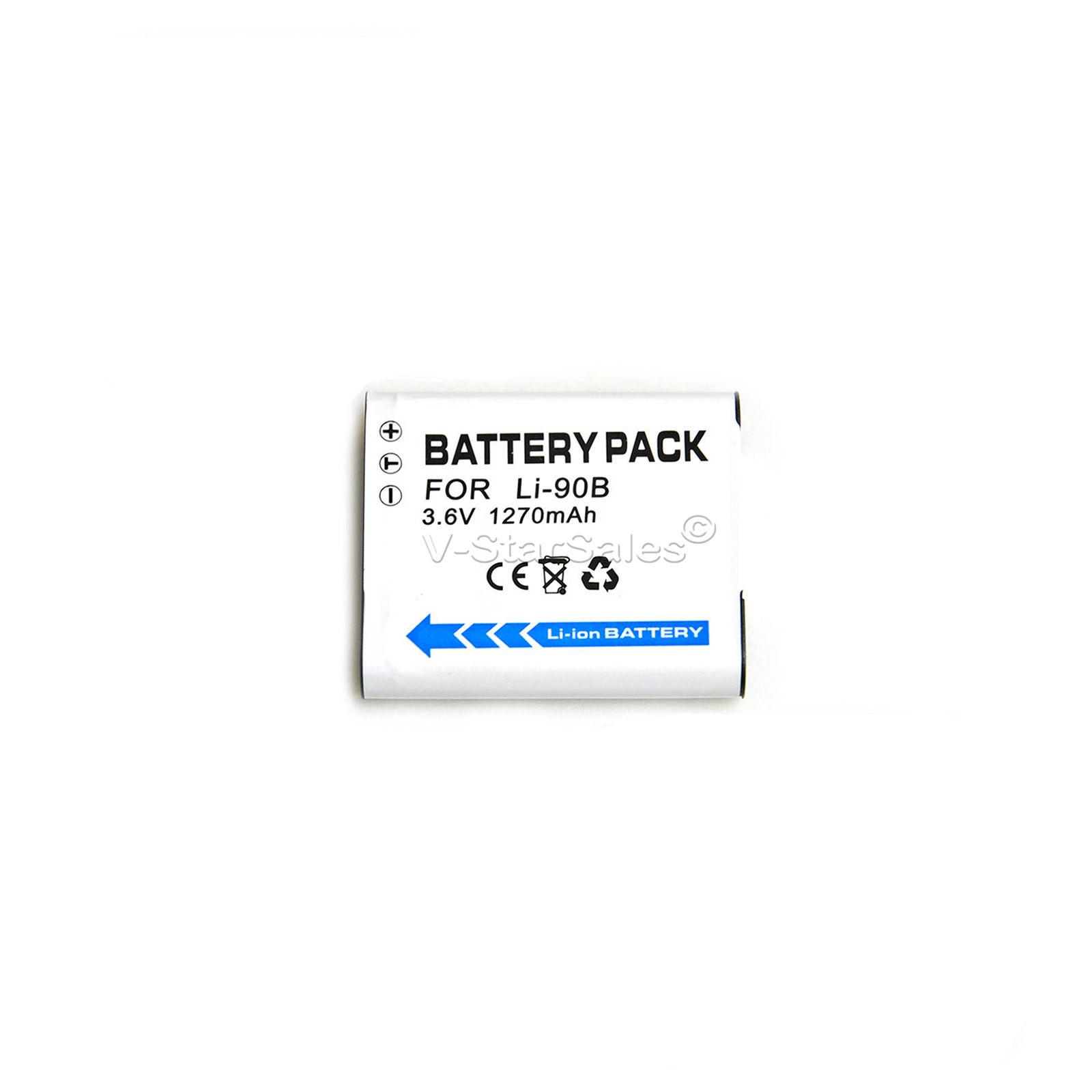 Li 90b Battery Charger Bonus For Olympus Stylus Tough Tg 2